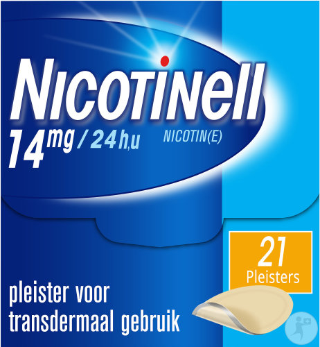 Nicotinell 14mg/24u 21 Patches
