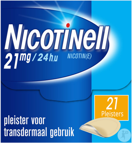 Nicotinell 21mg/24u 21 Patches