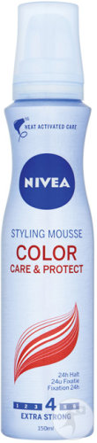 Nivea Color Care & Protect Styling Mousse Extra Strong 150ml
