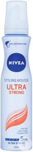 Nivea Ultra Strong Styling Mousse 150ml