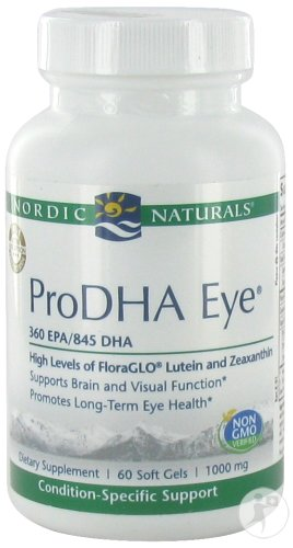 Nordic Naturals Pro DHA Eye 60 Soft Capsules