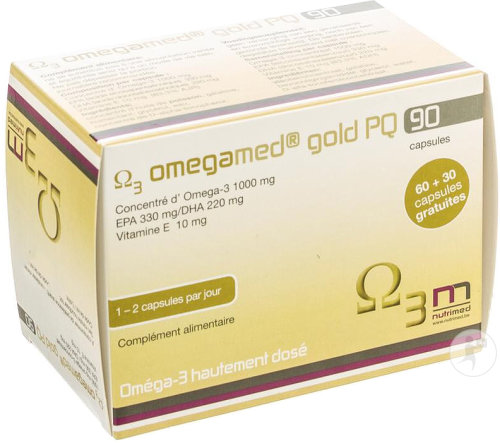 Omegamed Gold PQ 90 Capsules