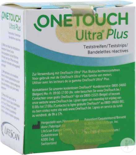 Onetouch Ultra Plus Teststrips 50