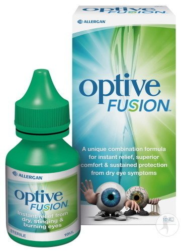 Optive Fusion Steriele Oplossing 10ml