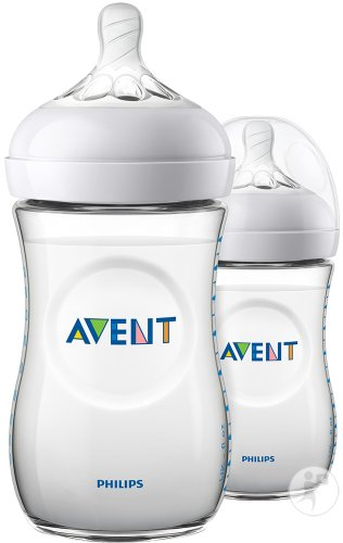 Philips Avent Natural Zuigfles 260ml DUO - SCF033/27 (1m+) - 2x