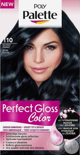 Poly Palette Perfect Gloss Color 110 Glossy Zwart 115ml