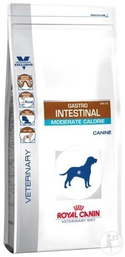 Royal Canin Veterinary Diet Gastro Intestinal Moderate Calorie Canine 2kg