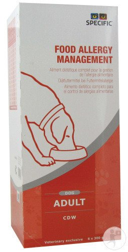 Specific CDW Food Allergy Management Adult Hond 6x300g