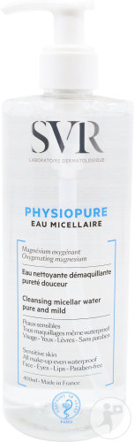SVR Physiopure Micellair Water Pompfles 400ml