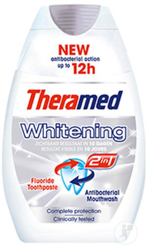 Theramed Tandpasta Whitening 2in1 Complete Protection 75ml