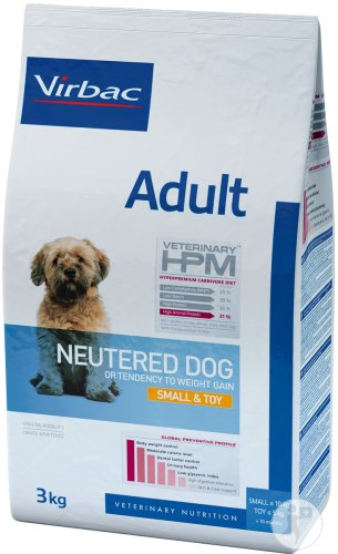 Virbac Adult Neutered Dog Small & Toy 3kg