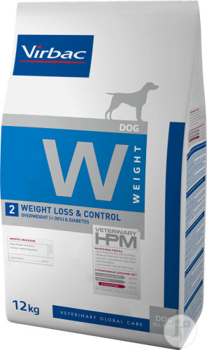 Virbac HPM Hond Weight Loss And Control W2 Zak 12kg