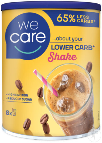 Weight Care Lower Carb Shake Iced Coffee Smaak Pot 240g