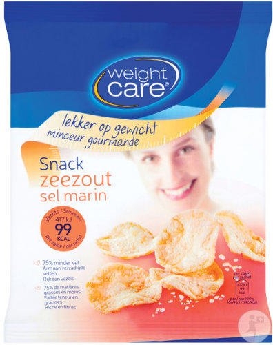 Weight Care Snack Zeezout 25g