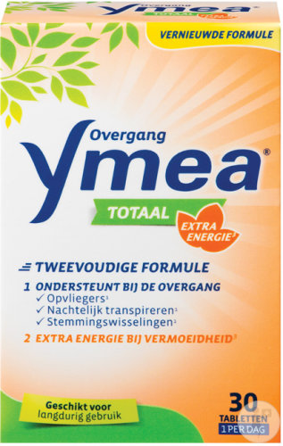 Ymea Totaal Overgang Extra Energie 30 Tabletten