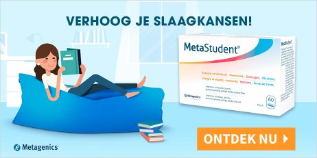 Metagenics MetaStudent Energie-Geheugen-Stress 60 Tabletten