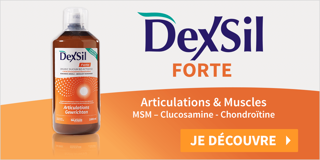 https://www.newpharma.fr/dexsil/477737/dexsil-forte-articulations-silicium-bio-activated-plus-msm-glucosamine-chondroitine-solution-buvable-1l.html