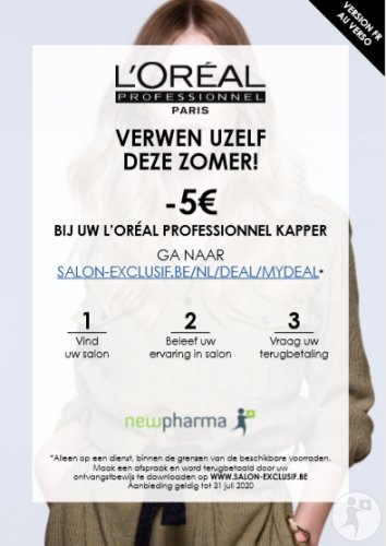 L'Oréal Professionel Flyer Drive to Salon