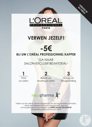 L'Oreal Professionnel Flyer Drive To Salon
