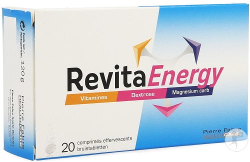 RevitaEnergy 20 Bruistabletten