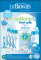 Dr. Brown's Options+ Giftset Standaardfles Blauw