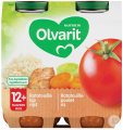 Olvarit Ratatouille-Hühnerreis 12+ Monate Glasbecher 2x250g (12m01)