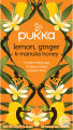 Pukka Lemon Ginger Manuka Honey Bio 20 Teebeutel