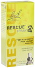 Bach Flower Rescue Pets Spray Flasche 20ml