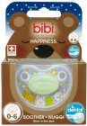 Bibi Happiness Dental Schnuller Glow In The Dark 0-6 Monate 1 Stück