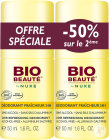 Bio Beauté By Nuxe 24U Frische-Deodorant Roll-On Duopack 2x50ml Promo 2ter Artikel -50%
