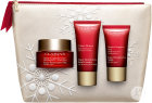 Clarins Geschenkset Super Restorative Collection Tagescreme 50ml + Nachtcreme 15ml + Handcreme 30ml