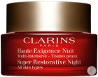 Clarins Super Restorative Night Anti-Age Nachtcreme Alle Hauttypen Tiegel 50ml