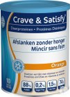 Crave & Satisfy Diät-Protein Orange Pulver 200g