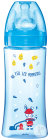Dodie Initiation+ Babyflasche Mit Rundem Sauger Variabler Trinkfluss 6+ Monate Blau 330ml