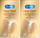 Durex Duopack Real Feeling 2 x 10 Kondome