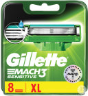Gillette Mach3 Sensitive Scheermesjes 8 Stuk