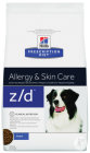 Hill's Pet Nutrition Prescription Diet Hund Z/D Allergie Und Hautpflege Beutel 3kg