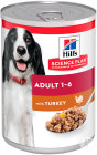 Hill's Pet Nutrition Science Plan Canine Adult Mit Truthahn Dose 12x370g