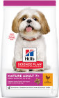 Hill's Pet Nutrition Science Plan Canine Mature Adult 7+ Small & Miniature Mit Huhn 1,5kg