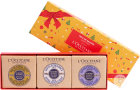 L'Occitane Soap Trio  Xmas