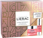 Lierac Box Supra Radiance Anti Ageing Hauterneuernde Gel-Creme 50ml + Augenserum 15ml