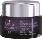 Louis Widmer Rich Night Cream Intensiv Anti-Ageing Für Trockene Haut Ohne Parfüm Tiegel 50ml