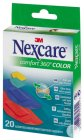 Nexcare Comfort 360° Color Pflaster 20 Stück