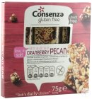 Nuts Consenza Reep Cranberry Pecan Z/glut.3x25g 5407