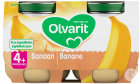 Olvarit Banane +4 Monate Glasbecher 2x125g (4m06)