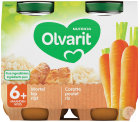 Olvarit Karotten-Huhn-Reis +6 Monate Glasbecher 2x200g (6m00)