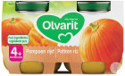 Olvarit Kürbisreis +4 Monate Glasbecher 2x125g (4m03)