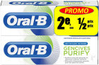 Oral-B Zahnpasta Purify Intense Cleaning Tube 2x75ml Promo 2ter Artikel -50%