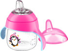 Philips Avent Lekvrije Pinguin Beker 200ml Roze
