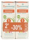 Puressentiel Pfefferminze Bio Ätherisches Öl Flakon 2x10ml